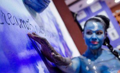 Imagen 10 BodyPainting Inauguracion Galeria