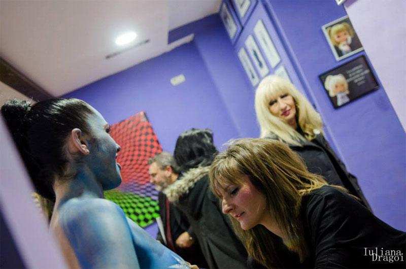 Imagen 7 BodyPainting Inauguracion Galeria