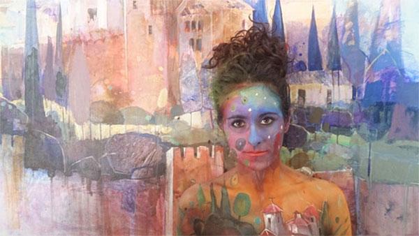 Imagen 3 exhibicion body painting lorena