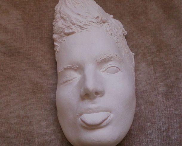 Imagen 2 molde de la cara de raul