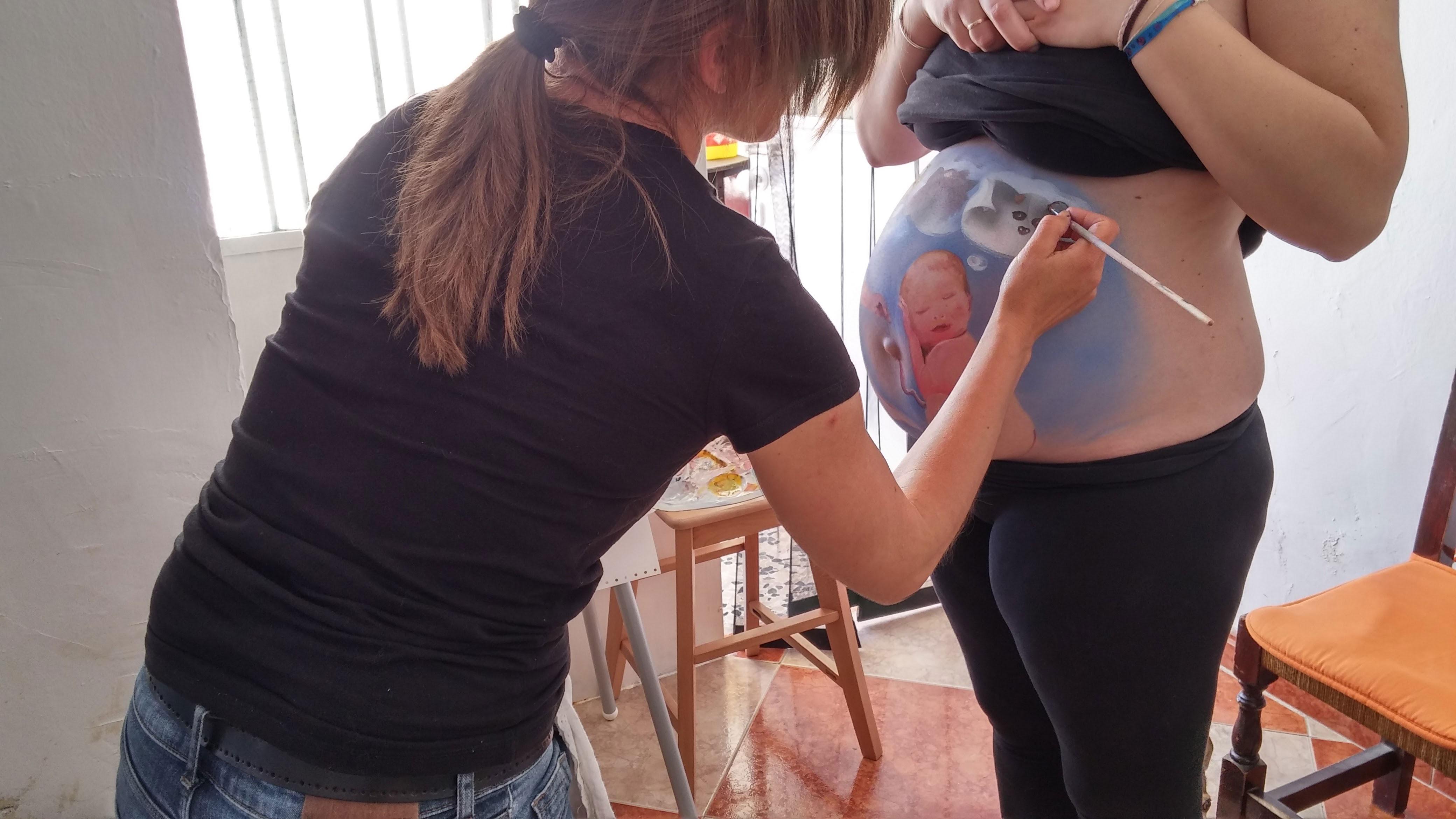 Belly Painting Granda