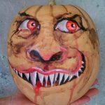 Imagen 4 Calabaza Halloween Pintada a Mano