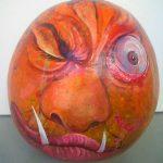 Imagen 5 Calabaza Halloween Pintada a Mano