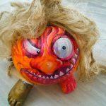 Imagen 6 Calabaza Halloween Pintada a Mano