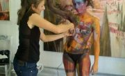 Exhibicion Body Painting Lorena Imagen 3