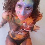 Exhibicion Body Painting Lorena Imagen 4