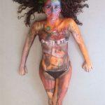 Exhibicion Body Painting Lorena Imagen 6