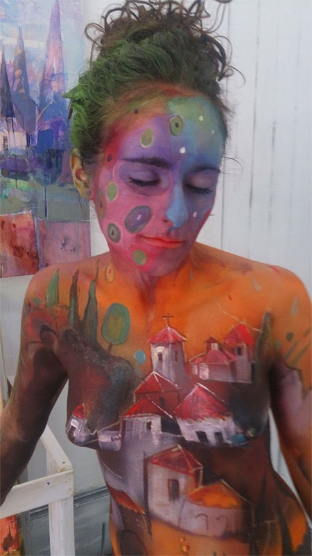 Exhibicion Body Painting