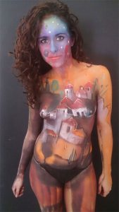 Exhibicion Body Painting Lorena Imagen 8