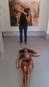 Exhibicion Body Painting Lorena Imagen 9