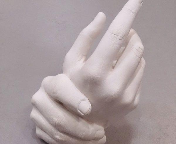 Imagen 2 molde manos de pareja