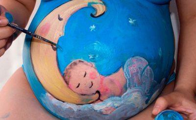 Qué es el Belly Painting