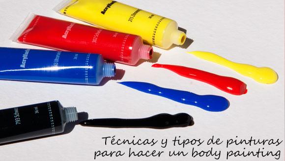 Tipos de pintura para body painting